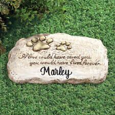 personalized pet memorial stones