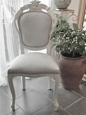 french louis chair memory foam pad fabric style chairs ebay shabby chic dining bedroom in grey laura ashley