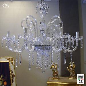 Il valore artistico dei vetri di murano è riconosciuto in tutto il mondo. Lampadari Da Soffitto In Cristallo Salotto Acquisti Online Su Ebay