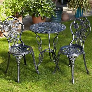 bistro table and 2 chairs for sale ebay