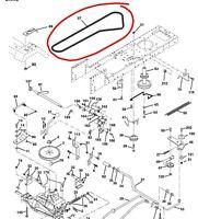 John Deere transmission HYDRO drive belt M144044 LT150