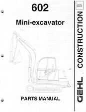 Heavy Equipment Parts & Accessories for Gehl Excavator for