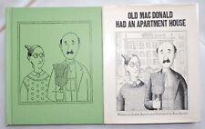 Old Macdonald Had An Apartment House 1969 Barrett 1st Edition W Dj Ilrated
