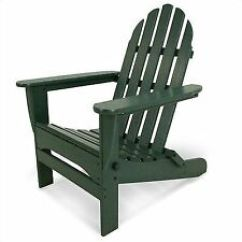 Green Resin Patio Chairs Rolling Office Chair Plastic Swings Benches Ebay Adirondack