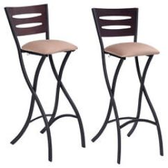 Folding Bar Stool Chairs Chair Crossword Stools Ebay Set Of 2 Counter Bistro Dining Kitchen Pub Furniture