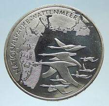 2004 GERMANY Wattenmeer National Park Genuine Silver German 10 Euro Coin i75325