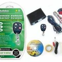 Bulldog Remote Starter Wiring Diagram Reading Diagrams Security Car Start And Entry Systems Ebay Kit Bypass Module