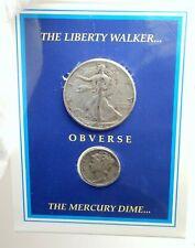 1945-46 USA United States Liberty Walker Mercury Dime Silver Coin Set i76335