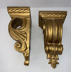 french country gold curtain rods