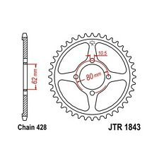 Motorcycle Chains, Sprockets & Parts for Yamaha TTR125 for
