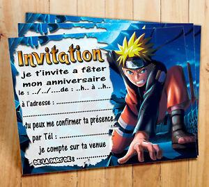 cartes invitations anniversaire ebay