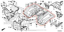 ATV, Side-by-Side & UTV Fenders for Honda Rancher 420 for