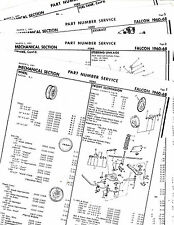 Repair Manuals & Literature for 1962 Ford Falcon for sale
