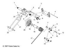 Polaris Snowmobile Shocks & Suspension for Polaris XC SP