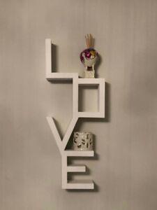Visualizza altre idee su mensole, parete, negozi di arredamento. Home Decor Arredo Da Parete In Legno Decorazione Murale Love Arredo Parete Casa Love Sign Home Garden