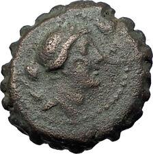 DEMETRIOS I Soter 162BC Seleukid Authentic Ancient Greek Coin ARTEMIS i68115