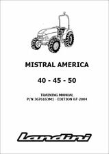 Heavy Equipment Manuals & Books for Landini Tractor for