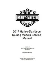 Harley-Davidson 2017 Repair Motorcycle Manuals and