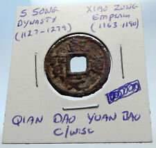 1163AD CHINESE Southern Song Dynasty Genuine XIAO ZONG Cash Coin of CHINA i71545