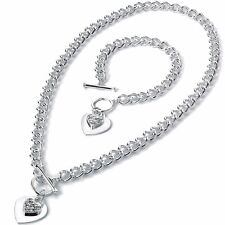 Silver Plated Crystal Costume Necklaces & Pendants for