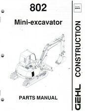 Heavy Equipment Manuals & Books for Gehl Excavator for