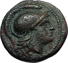 LYSIMACHOS 306BC Thrace King Authentic Ancient Greek Coin ATHENA & LION i66760