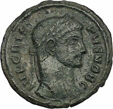 Crispus Constantine the Great son 319AD Ancient Roman Coin Sucess Wreath i52737
