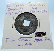 1022AD CHINESE Northern Song Dynasty Antique REN ZONG Cash Coin of CHINA i72686