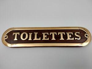plaque porte toilettes ebay
