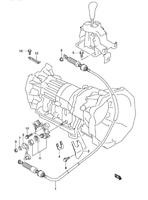 SHIFT CABLE, Auto Trans Shift Cable GEAR SELECT SUZUKI XL7