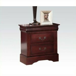 cherry nightstands for sale in stock