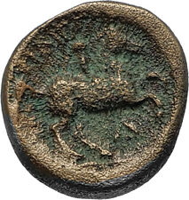 Philip II 359BC Olympic Games HORSE Race WIN Macedonia Ancient Greek Coin i66804