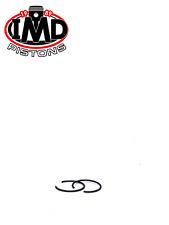 Motorcycle Pistons, Rings & Piston Kits for Honda CL350