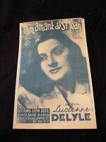Lucienne Delyle Mon Amant De St Jean : lucienne, delyle, amant, Lucien, Niverd, Saxophone, Anthem, Piano, Sheet, Music, Score