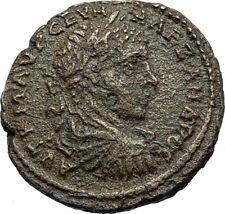 SEVERUS ALEXANDER Authentic Ancient DIONYSOPOLIS Roman Coin w GREAT GOD i71172