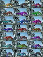 Ark Survival Evolved Colors : survival, evolved, colors, Survival, Evolved, Unleveled, Color, Mutated, Doedicurus