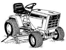 Manual Cub Cadet Lawnmower Parts & Accessories for sale