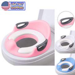 Potty Chair For Girls Gym Mini Peddler Ebay Trainer Toilet Seat Kids Boys Toddlers Cushion Handles