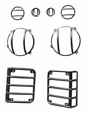 Headlight & Tail Light Covers for Jeep Wrangler for sale