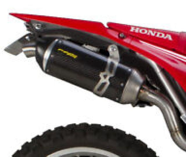 2017 Honda Crf 250l Rally Two Brothers S1r Carbon Fiber Slip On Exhaust System