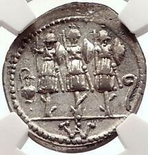Dictator Sulla SON Silver Roman Republic Coin for POMPEY the GREAT NGC i69580