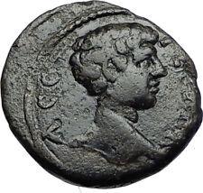 GETA Authentic Ancient 198AD Serdica Thrace Genuine Roman Coin TYCHE i71165