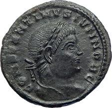 Constantine II Jr Constantine I son as Caesar Ancient  Roman Coin Wreath  i73196