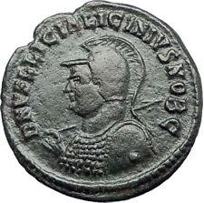 LICINIUS II Jr 321AD Heraclea Authentic Ancient Roman Coin JUPITER EAGLE i70740