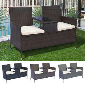 2 seater table in garden patio