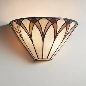 tiffany style wall sconce for sale in