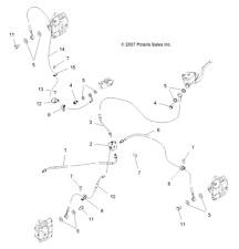 Polaris ATV, Side-by-Side & UTV Brake Lines & Hoses for