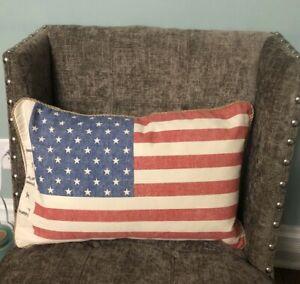 americana patriotic home decor pillows