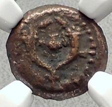 ALEXANDER JANNAEUS Biblical Jerusalem Widow's Mite Greek Bible Coin NGC i70624