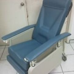 Invacare Clinical Recliner Geri Chair Computer White Deluxe 3 Position Medical Patient Miami Ebay